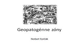 Geopatogénne zóny